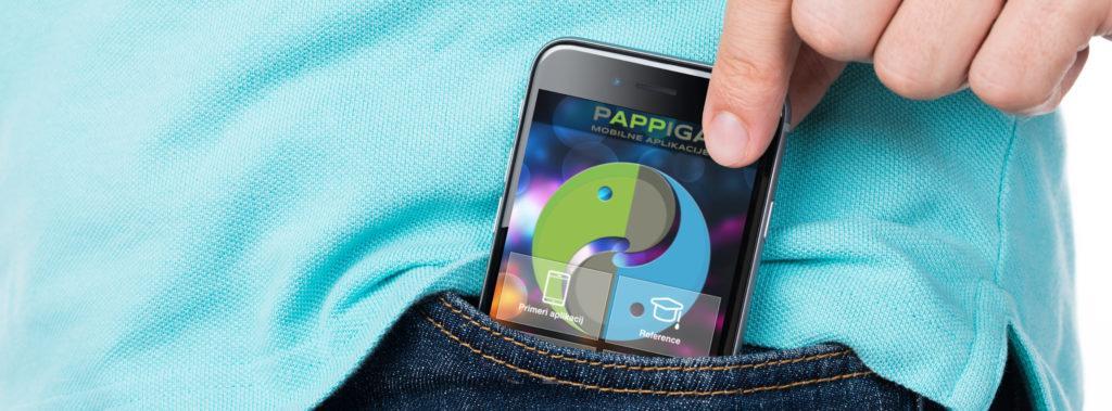 Pappiga mobilne aplikacije - mobilne aplikacije in spletne rešitve